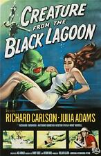 Creature From the Black Lagoon Vintage Movie Poster Lithograph Hand Pulled S2