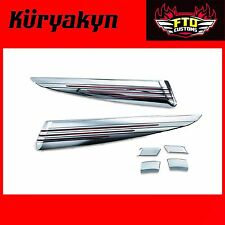 Kuryakyn Chrome Saddlebag Extensions 14'-17 Touring 7292