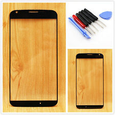 Replacement Black Outer Glass Panel Touch Screen for Motorola Moto X XT1058+Tool