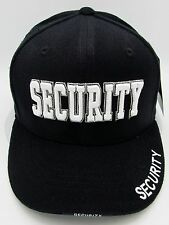 Rapid Dominance SECURITY Guard Ball Cap Hat 3DEmbroidered Adjustable Black New