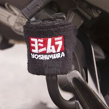 Small Black Yoshimura Brake Clutch Reservoir Sock Cover Motorcycle Bike Sweat