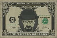 Cartel Breaking Bad-Heisenberg 1 millones de dólares Bill-cartel TV PP33492