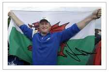 JAMIE DONALDSON WALES + EUROPE 2014 RYDER CUP SIGNED PHOTO PRINT GOLF
