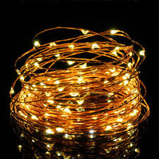 3M 30 LEDs Warm White Fairy Lights Wire Light String lamp USB Operated Xmas