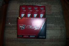4 dozen BRAND NEW 2015 Wilson Staff  Duo Spin  golf balls