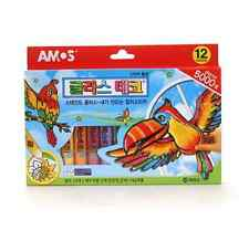 Amos Glass Deco for kids Stained-glass work Create Art & Imagination 12colors