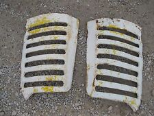 Oliver 77 88 Tractor original front nose cone hood grill bar bars right & left