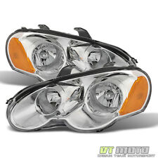 2003 2004 2005 Chrysler Sebring 2Dr Coupe Replacement Headlights 03-05 Headlamps