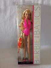 Barbie Basics Model No 04 Collection 003 Pink Swim Suit Blonde Hair