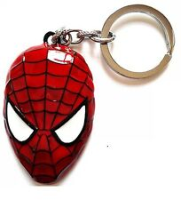 "New Spider Man Metal Key Chain - Key Chains (big red)  2"" High-quality"