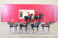 DORSET SOLDIERS 912A 912B WAR in INDIA MOUNTED 18th LANCERS on PARADE BOXED nc