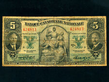 Canada:P-S716,5 Dollars,1935 * Banque Canadienne Nationale *