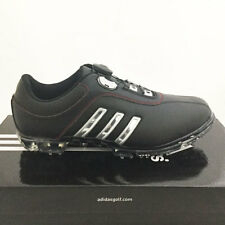 ADIDAS MEN'S PURE METAL BOA GOLF SHOES SIZE: 9 M BLACK/SILVER *SAMPLE* NEW 17395