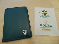 1985 Collectible Rolex Folder Green pocket 16030 OYSTER PERPETUAL DATEJUST cert