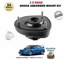 FOR SUBARU IMPREZA 2.0 WRX STI 2001-  1 X REAR SHOCKER TOP SUSPENSION MOUNTING