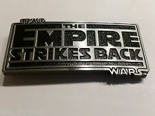 Original STAR WARS The EMPIRE Strikes Back logo belt buckle Cosplay or just wear