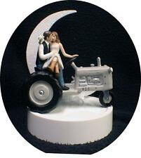 Country Western Tractor Wedding Cake Topper Farmer Barn Theme Gardening Nature