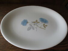 """Wedgewood   Ice Rose 14""""  Oval Serving Platter"""