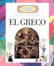 El Greco (Getting to Know the World's Greatest Artists)-ExLibrary
