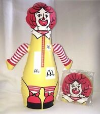 HARD TO FIND!!  Ronald McDonald Inflatable Toy