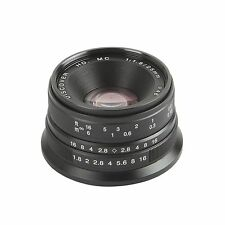 Camera 25mm F/1.8 HD MC Manual Focus Lens for SONY E mount NEX5N 6 7 A6000 A7 II