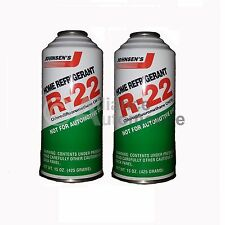 2 - 15oz Cans of R-22 Refrigerant Home AC Air Conditioning