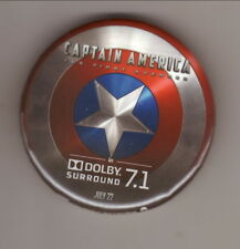 2011 Captain America: The First Avenger Promotional Pin