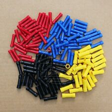 200pcs 10-22 AWG Set Butt connector Insulated wire Crimp Terminal connector Kit