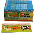 My First Bath Book waterproof Baby Bathtime Play Floating Toy farm animal