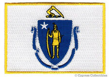 MASSACHUSETTS STATE FLAG embroidered iron-on PATCH new applique BOSTON EMBLEM