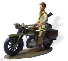 Soldados de Plomo en Moto 1:30 Norton Four Sergeant U.S. -SMI024