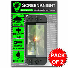 ScreenKnight Nintendo Switch SCREEN PROTECTOR - Military Shield - 2 PACK
