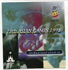 THAILAND STAMP 1998 13th ASIAN GAMES SPORT 8V. WITH FOLDER