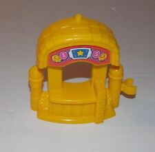 Fisher Price Little People Ticket Booth Circus Carnival Amusement Park