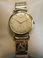 14k Yellow Gold Men's Vintage Hamilton Watch 1959 PG & E Award 22.3 grams