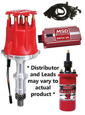 MSD IGNITION PACKAGE KIT SBC CHEV 307 327 350 383 400 427 #85551