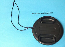 SNAP-ON LENS CAP To FUJI CAMERA S3380HD S3380 HD FINEPIX FUJIFILM+HOLDER