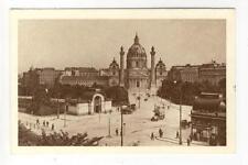 AK Wien IV, Karlsplatz, Stadtbahn Haltestelle, 1925