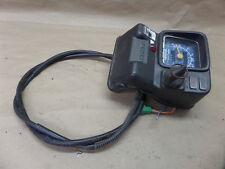 SUZUKI LT250  QUADRUNNER IGNITION KEY SWITCH SPEEDOMETER AND CABLE ASSY