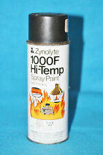 VINTAGE ZYNOLYTE 1000F HI-TEMP SPRAY PAINT CAN - 12oz