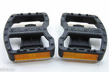 Exustar Bicycle Pedal Clipless Adapters E-RR3 Look Platform W/Reflector