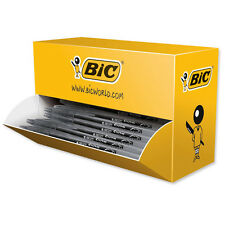 Bic Cristal Rollerball Pen Gel Ink 0.7mm Tip 0.5mm Line Black 20 Pack