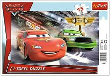 Trefl 15 Piece Baby Kids Boys Infant Disney Pixar Cars Frame Floor Jigsaw Puzzle