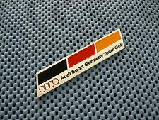 #32 Audi metal sport badge emblem sticker S4 S5 S6 TT Trank Rear Body