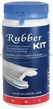 RIB INFLATABLE REPAIR KIT BLACK DINGHY RUBBER   RIBREPKITB