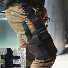 Waterproof  Hunting Army Thigh Leg Tactical Pistol Gun Holster Pouch Holder