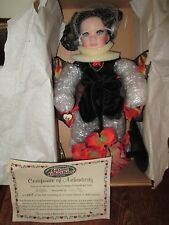 "Ganz Cottage Collectibles ""Flittel"" *NRFB *COA * porcelain doll *By Linda Steele"