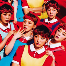 RED VELVET -  The Red  1st Album CD + Photo Card + Photo Booklet K-POP Sealed SM