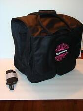 "Tupperware Large Duffle Kit Bag Award Consultant Logo Advertise 16""x16""x10"" New"