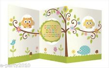 HAPPI TREE OWL CENTERPIECE ~ Baby Shower Party Supplies Table Room Decorations